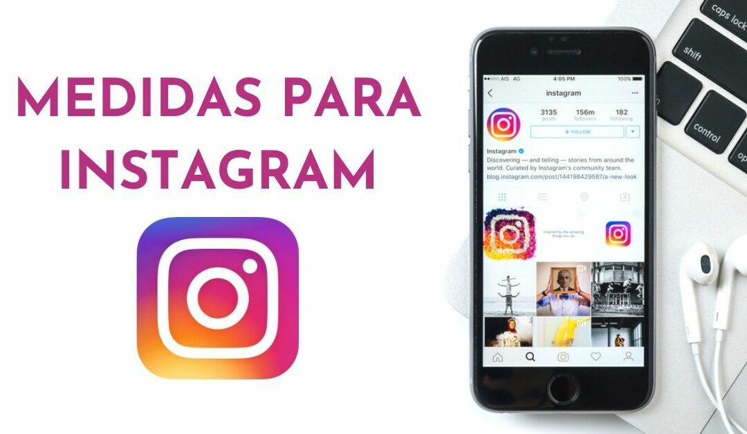 🚀 Medidas Instagram 2020 – Guía completa